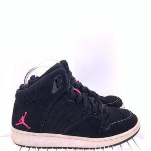 Nike Air Jordan 1 Flight 4 Black Vivid Pink 7y